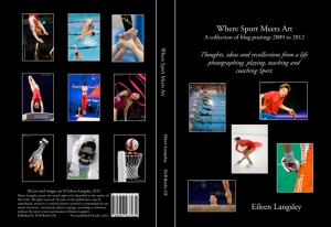 "The cover of the book ""Where Sport Meets Art - A collection of blog postings between 2009 and 2012""."