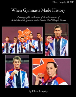 "The cover of ""When Gymnasts Made History"""
