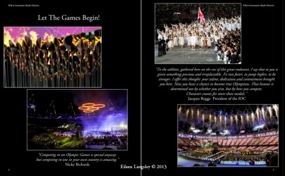 Images from the Opening Ceremony of the London 2012 Olympic Games.