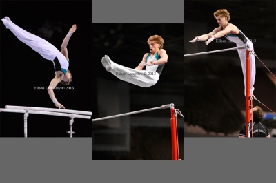 Anthony Wise (South Essex GC) competing in the junior men's competition at the British Gymnastics Championships Liverpool Echo Arean March 22-24 2013.
