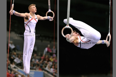 Sam Oldham (Huntingdon GC) competing in the senior men's competition at the British Gymnastics Championships Liverpool Echo Arean March 22-24 2013.