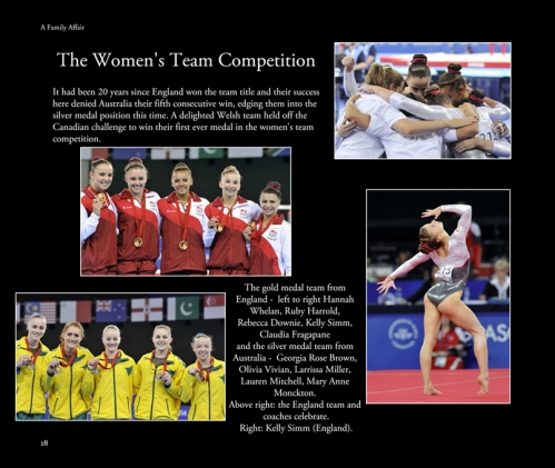 The Women's team competition