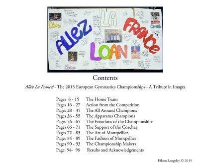Pages from the new publication 'Allez La France!'