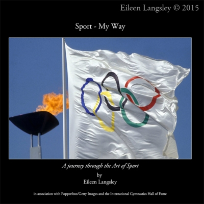 The cover of the new book published July 2015 - 'Sport - My Way' by Eileen Langsley