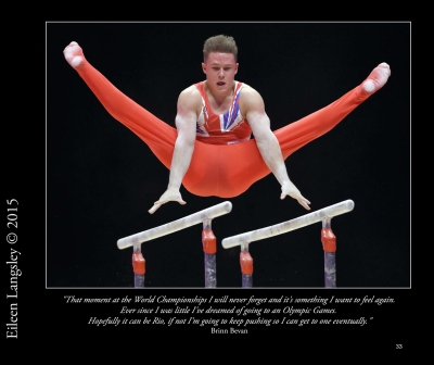 A new souvenir book celebrating the great achievements of British Gymnasts at the 2015 World Gymnastics Championships in Glasgow