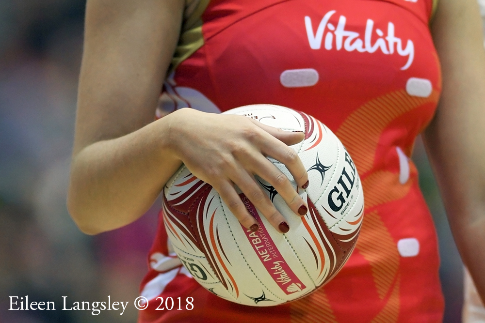 Protected: The 2018 Vitality Netball International Quad Series January 20 and 22, Copperbox Arena London.