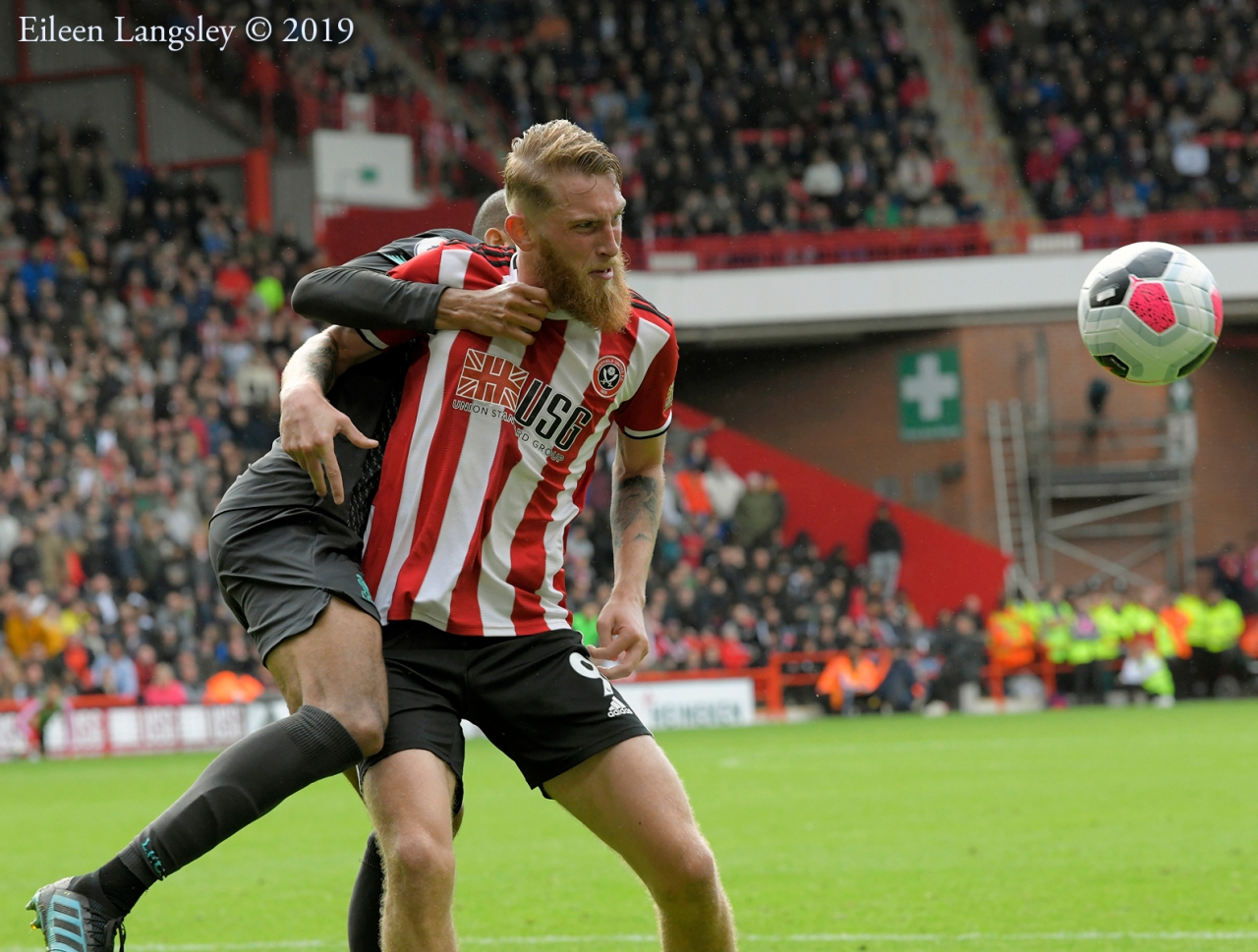 Protected: The English Premier League match between Sheffield United and Liverpool